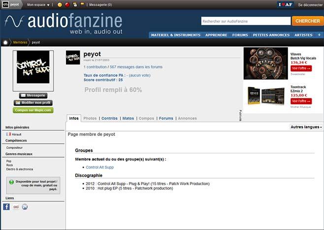 profil-audiofanzine