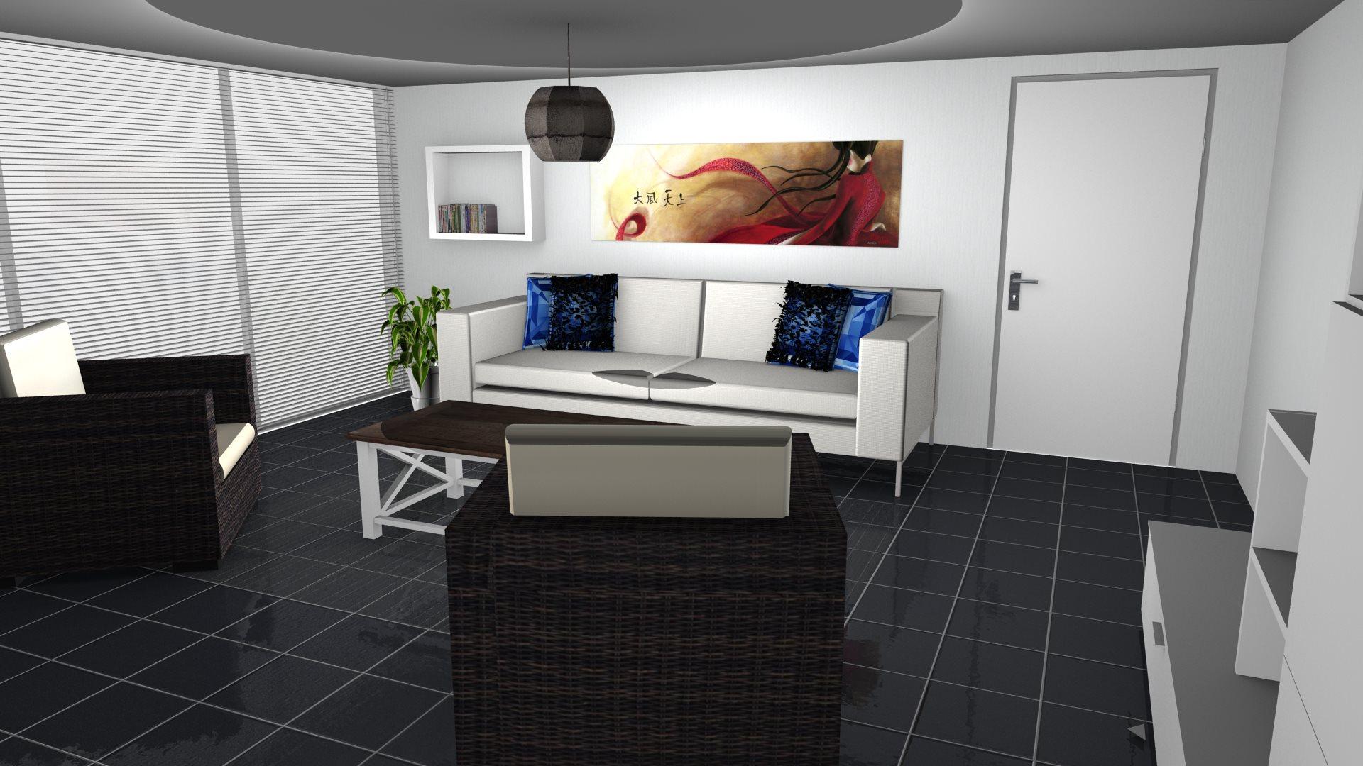Salon réalisé avec Pcon.planner