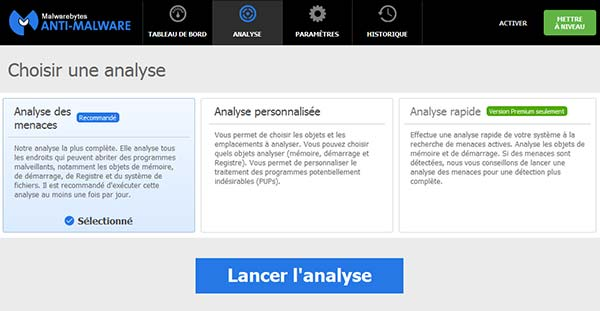 analyse malwarebytes