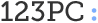 123PC Logo